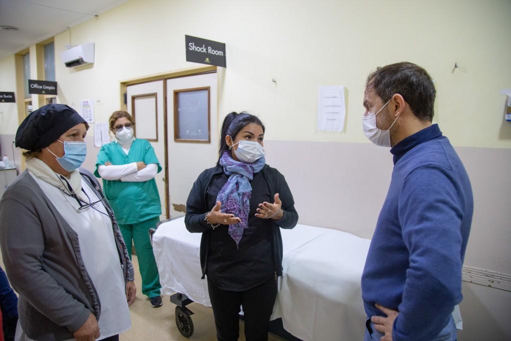 """El hospital municipal suma """"facilitadoras"""" para agilizar la atención en la guardia"""