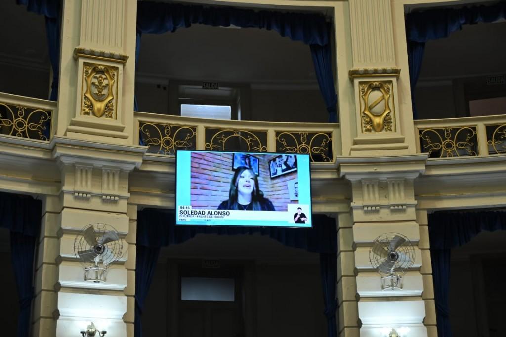 Soledad Alonso sumó dos Proyectos de Ley aprobados en Cámara de Diputados