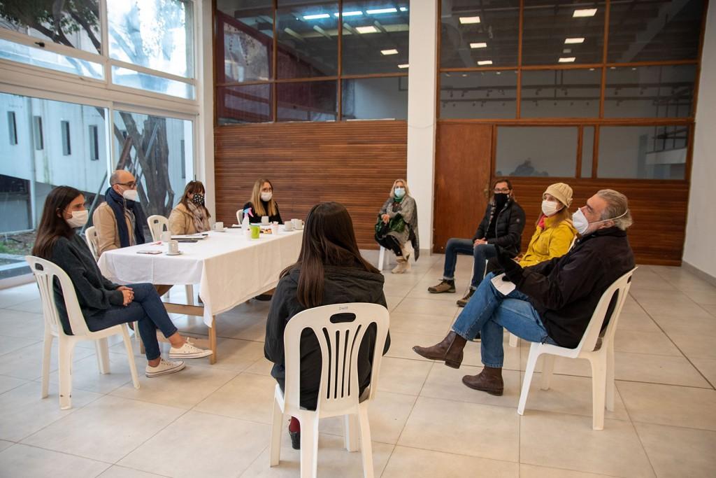 Elisa Abella comenzó un ciclo de encuentros con referentes culturales de la ciudad