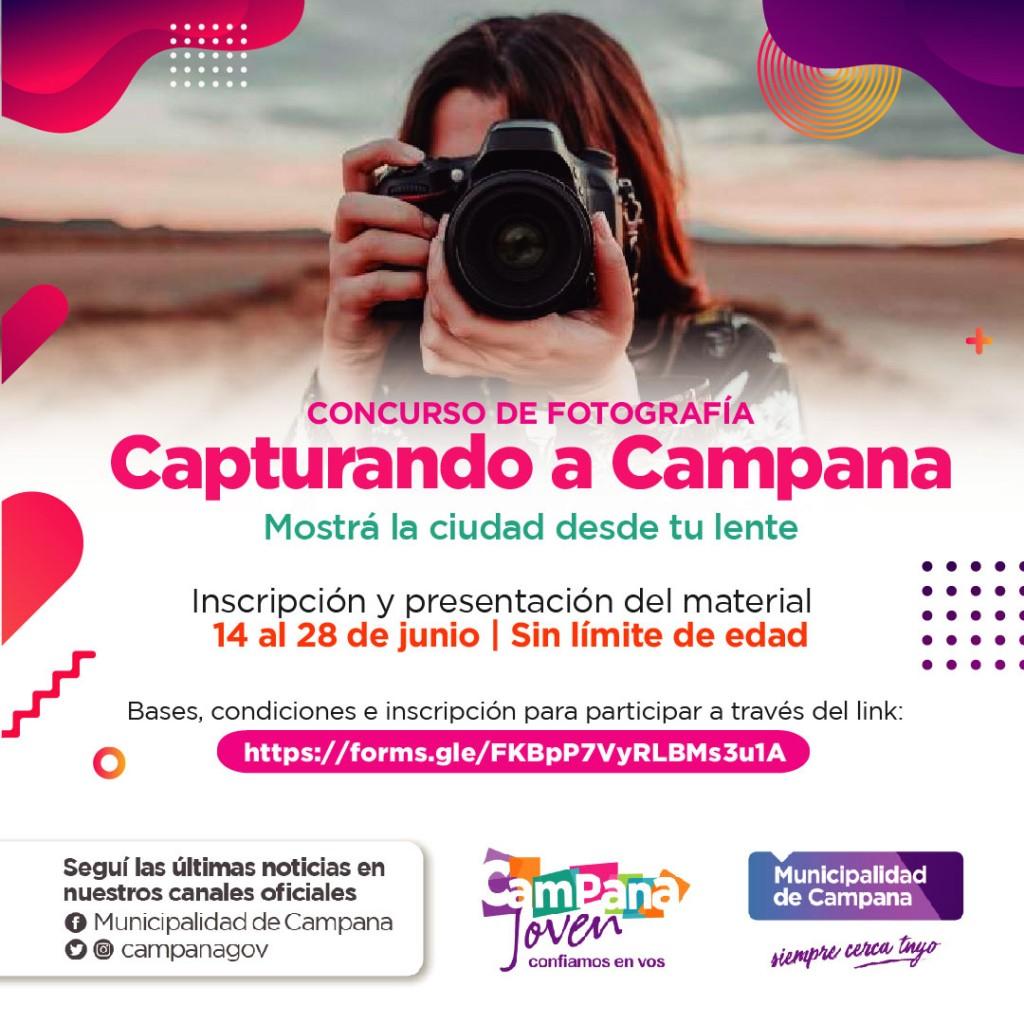 """Hasta el lunes 28 hay tiempo de participar en el concurso de fotografía """"Capturando Campana"""""""