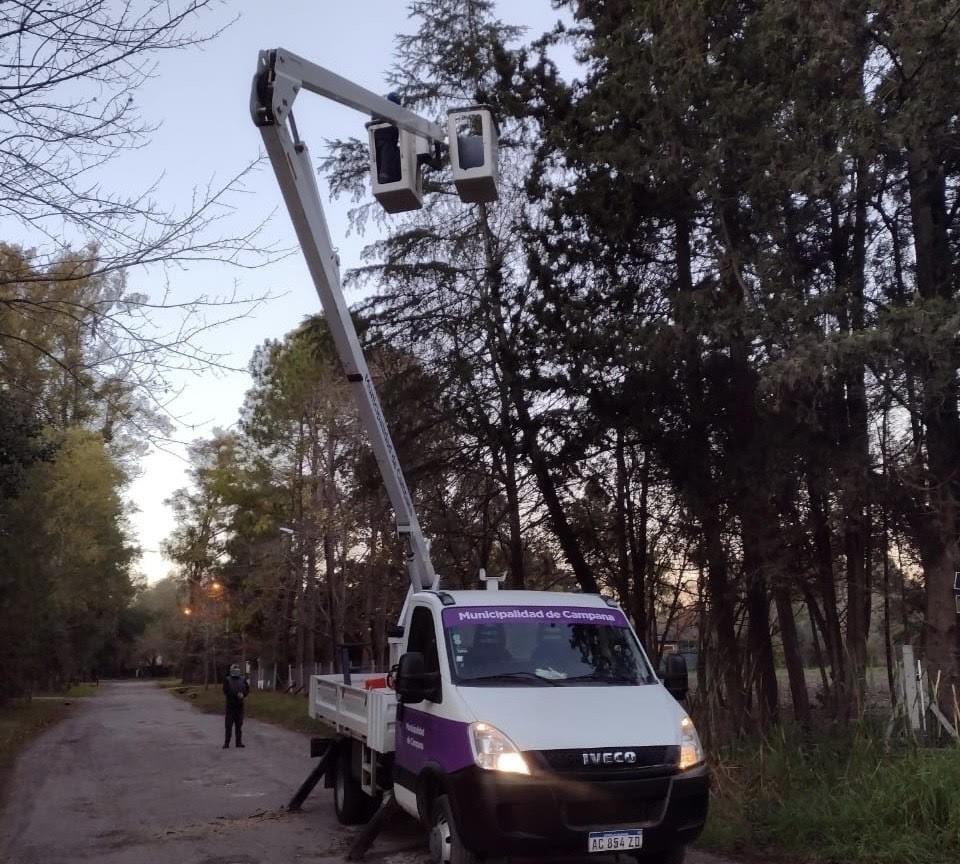 A diario, cuadrillas municipales trabajan en el mantenimiento de la ciudad