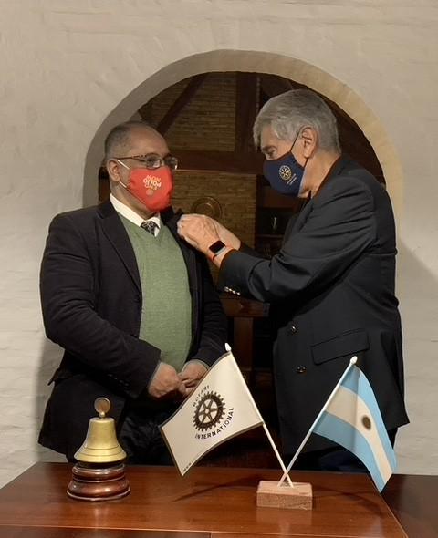ROTARY CLUB CAMPANA : Reunión de Cambio de Autoridades en Rotary Club Campana