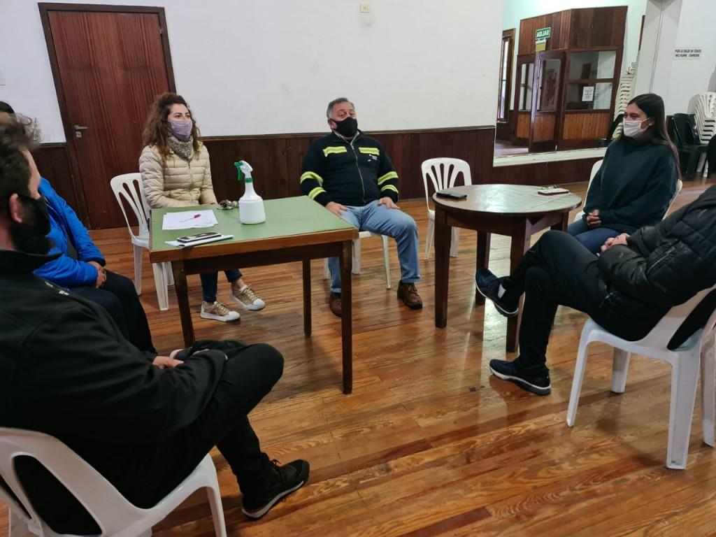 Elisa Abella se reunió con el nuevo presidente del Club Ciudad de Campana
