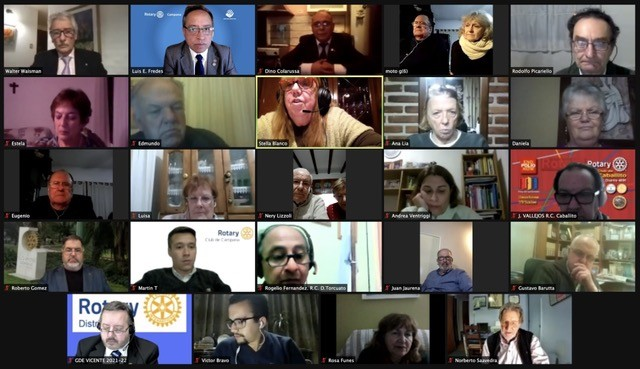 ROTARY CLUB CAMPANA Reunión de Cambio de Autoridades en Rotary Club Campana
