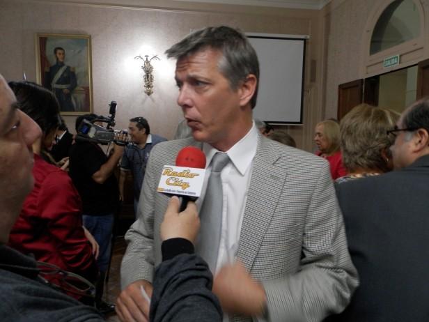 Axel Cantlon solicitó informes sobre la posible construcción de un camino por el interior de la Reserva de Otamendi