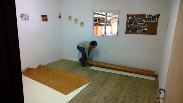 La Orquesta-Escuela de Campana instala nuevos pisos donados por la Municipalidad de Campana