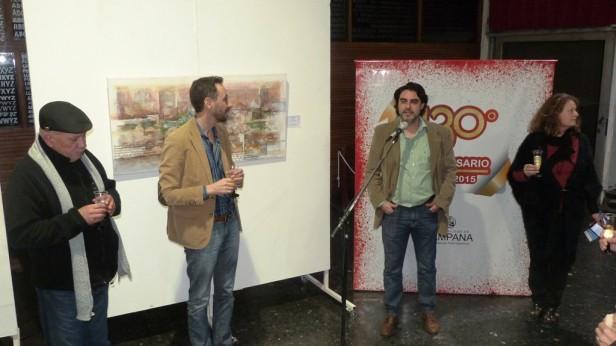 Artistas locales exponen en la Casa de la Cultura