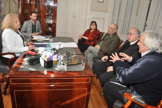 Autoridades de la Universidad Nacional de Luján mantuvieron una reunión de trabajo con la Intendente Giroldi