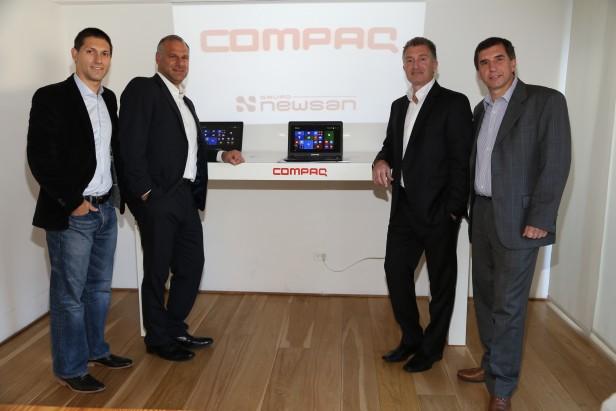 Grupo Newsan y  HP confirman acuerdo para producir en el país.