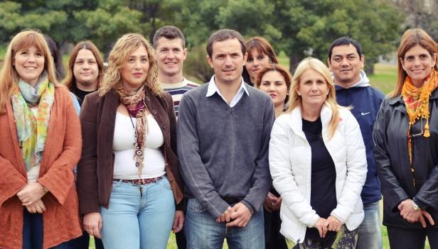 """Abella: """"Vamos a garantizar escuelas en condiciones y apoyar a los docentes y alumnos"""""""