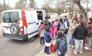 La Unidad Sanitaria Móvil continúa recorriendo la ciudad para brindar mayor accesibilidad a la salud a los Vecinos