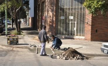 Castelli y Jean Jaures: Construyen nuevas rampas para personas con capacidades especiales