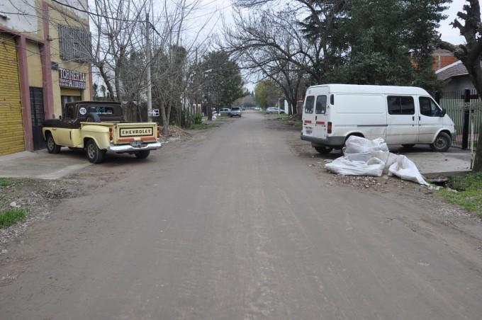 El barrio Don Francisco tendrá el 100% de sus calles asfaltadas