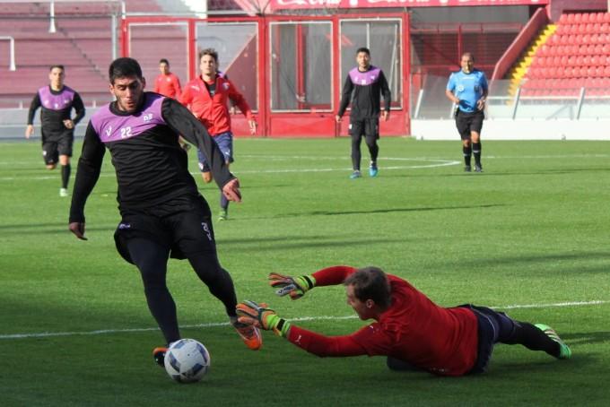 Villa Dalmine jugò su primer amistoso en Avellaneda frente a Independiente