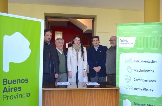 El Municipio participó de la inauguración del Registro provincial de las personas para los isleños