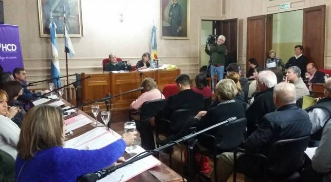 Se lleva adelante la asamblea de concejales y mayores contribuyentes en el HCD