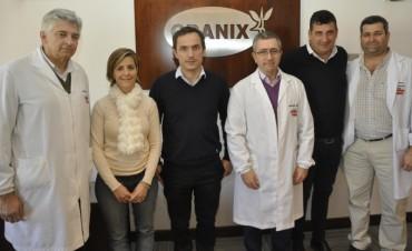 El Intendente visitó la empresa Granix