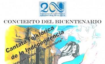Se llevará a cabo el Concierto del Bicentenario  con entrada libre y gratuita