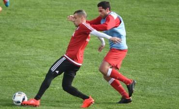 River Plate jugò un amistoso frente a Deportivo Moròn