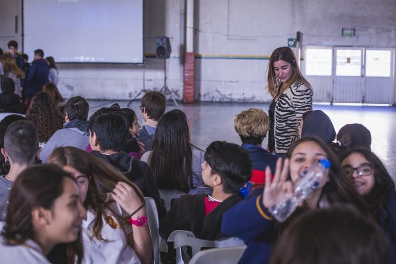 Adolescencia Activa: cientos de chicos participaron del 2º encuentro intercolegial