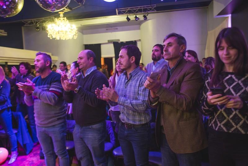 Abella acompañó la presentación de los candidatos de Cambiemos en Zárate