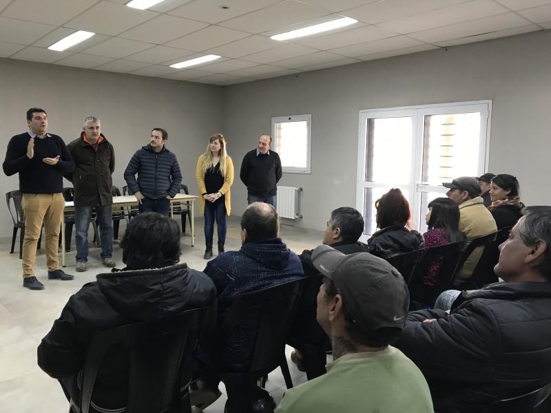 Tras gestiones del Intendente, se incorporan 80 vecinos al programa nacional Argentina Trabaja
