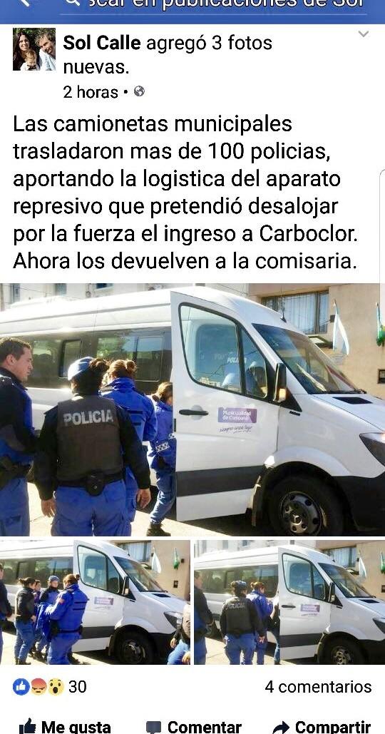 """Abella: """"Es vergonzoso el uso político que hace La Cámpora de la situación de Carboclor"""""""