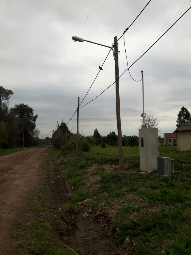 Se instalaron nuevas luminarias en Santa Brígida