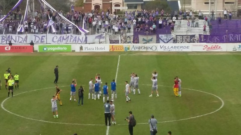 Villa Dálmine le ganó a Flandria 2 a 0