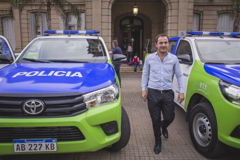 Se incorporan nuevos móviles policiales para reforzar la seguridad