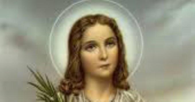 La iglesia recuerda hoy a Santa María Goretti