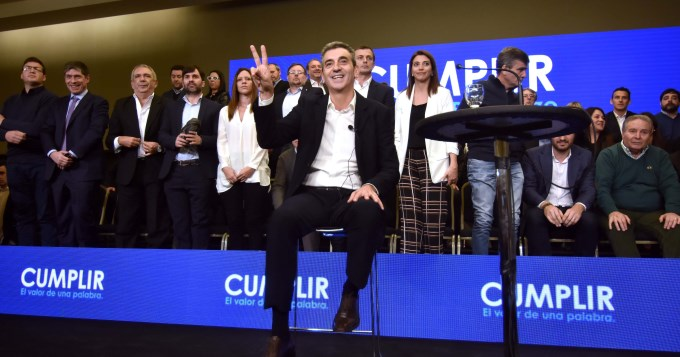 Florencio Randazzo: somos la alternativa a la soberbia y el oportunismo