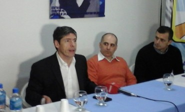 Juan Manuel Abal Medina visitò Campana