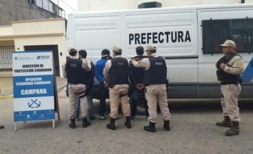 Tira piedras: tres detenidos en el barrio San Felipe  tras un operativo