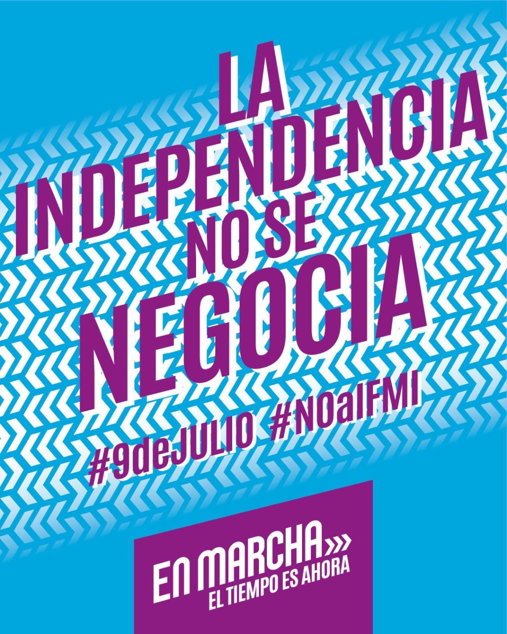 El secretario general de Libres del Sur, Jorge Ceballos, participará de la movilización en el marco del 9 de julio en repudio al FMI