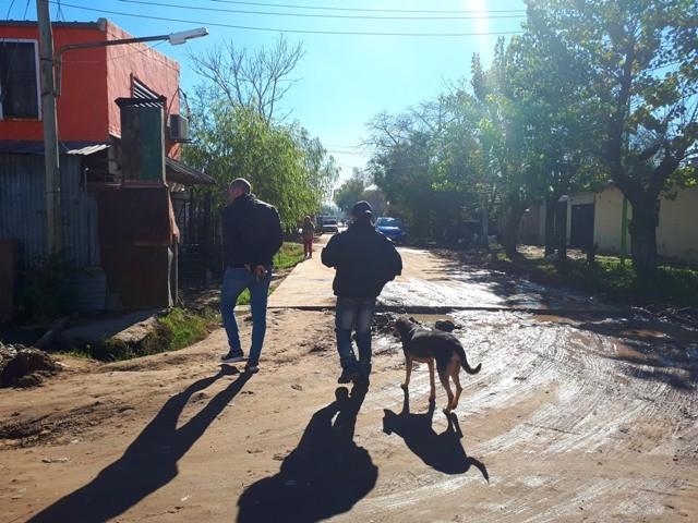 """""""En San Felipe hace falta un mantenimiento integral del barrio"""""""