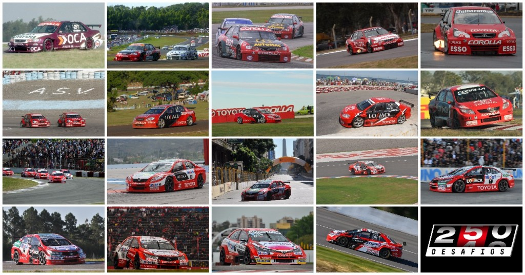 Toyota celebra un nuevo hito en el automovilismo argentino: 250 carreras dentro del Súper TC2000
