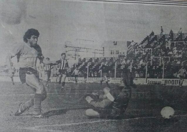 Carlos Guerrero en la previa de Villa Dálmine frente River Plate por Copa Argentina