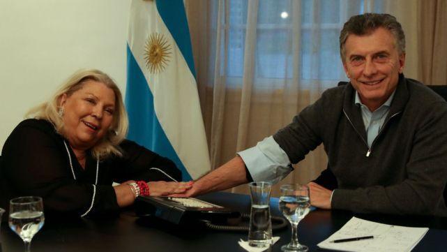 Carrió: Al Presidente lo habìan convencido que la mayorìa votarìa en contra de la despenalizaciòn del aborto
