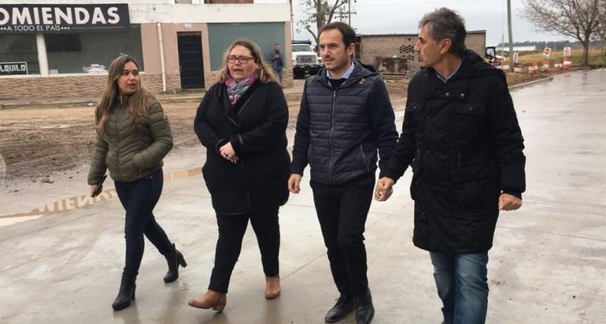 """""""La repavimentación de la Antártida Argentina, es otra muestra del compromiso de Abella por los vecinos"""""""