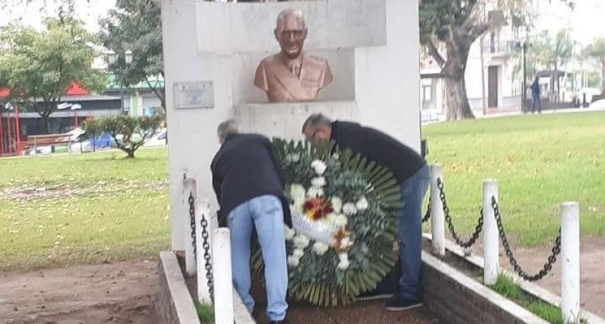 El Partido Justicialista conmemoró un nuevo aniversario del fallecimiento del General Perón