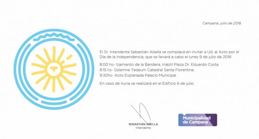 Se celebrará el 133° aniversario de la creación del partido de Campana