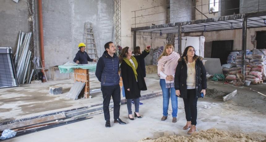 Avanza la obra del nuevo Centro Educativo Municipal
