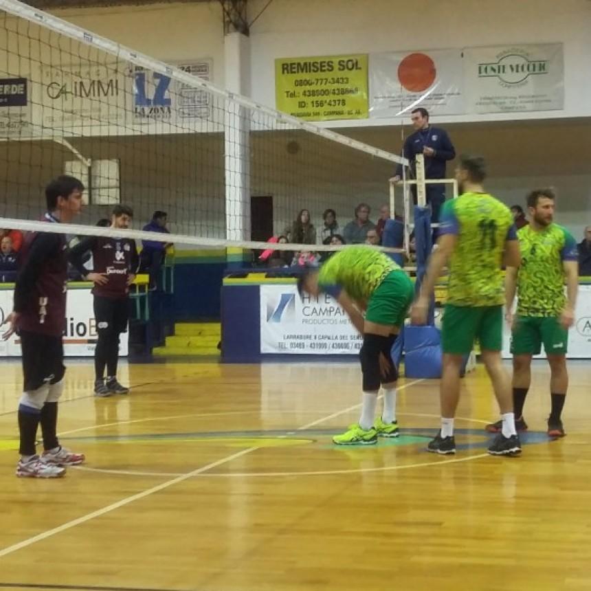 Ciudad de Campana venciò a la U.A.I y pasò a semifinales en Divisiòn de Honor