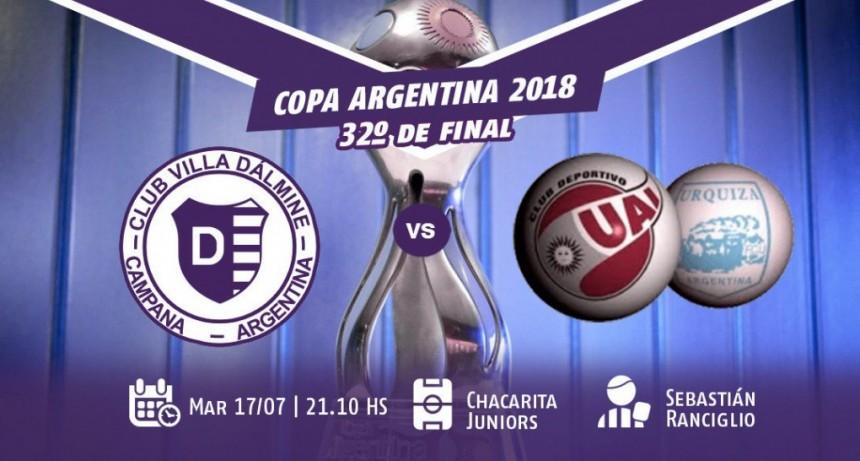 Villa Dàlmine cerrò su preparaciòn para el debut en la Copa Argentina
