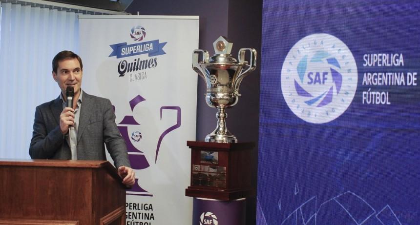 Se presentó el fixture de la Superliga Argentina de Fútbol
