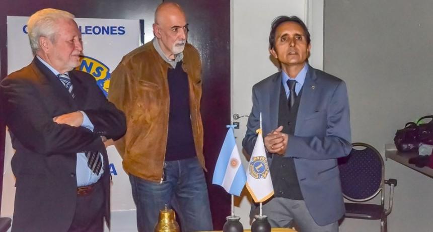 Asumieron nuevas autoridades en el Club de Leones Campana Norte