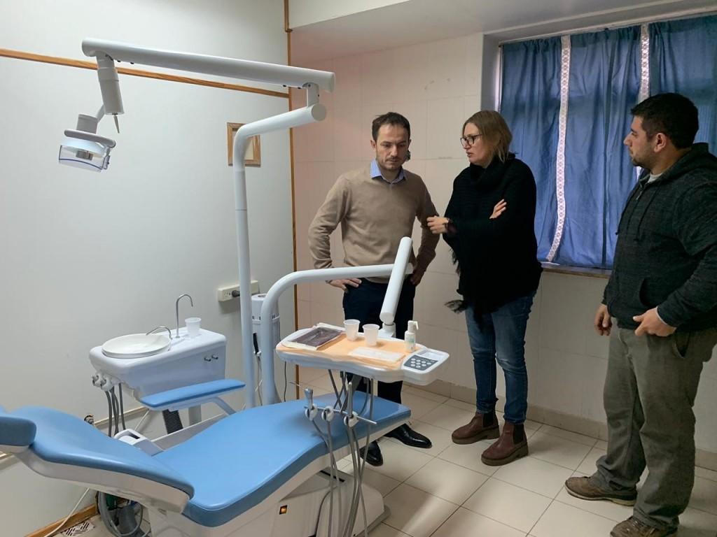 Renuevan el equipamiento odontológico del hospital municipal