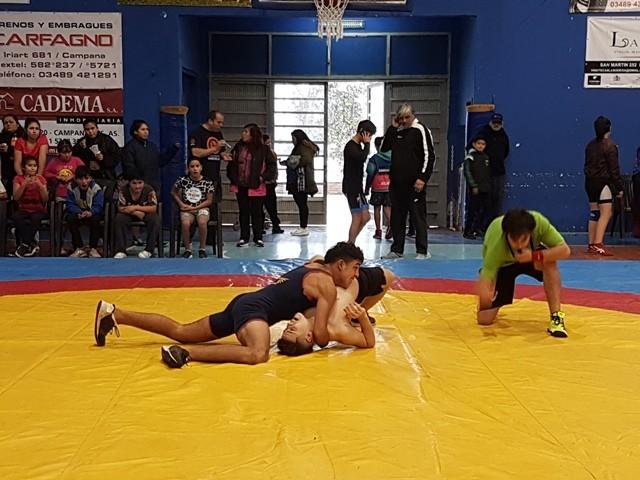 Campana fue sede del 2° Encuentro de topes de lucha olímpica