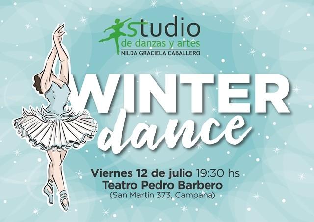 """""""Winter Dance"""" se presentará este viernes en el Pedro Barbero"""